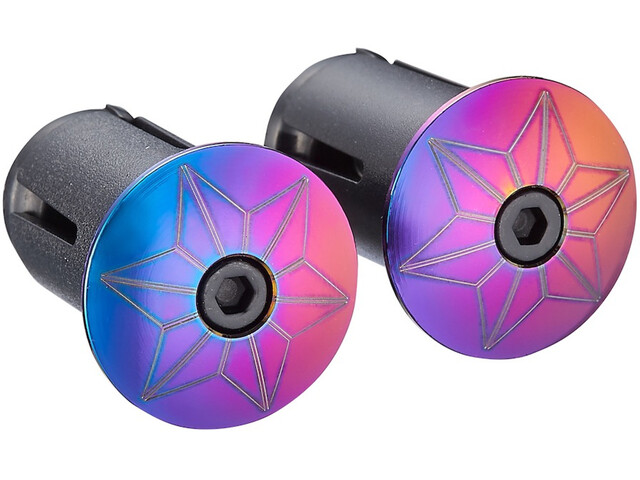 Supacaz Star Plugz anodised colourful